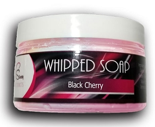 Black Cherry Whipped Soap