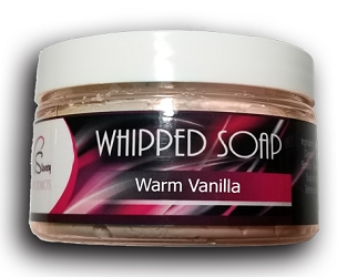 Warm Vanilla Whipped Soap